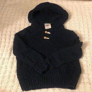 Oshkosh kids navy blue sweater